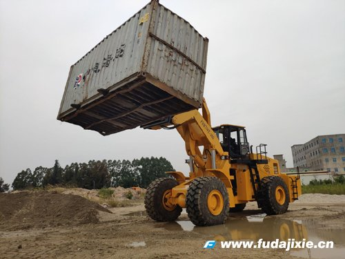 40吨集装箱翻转叉装机FDM798T-40G